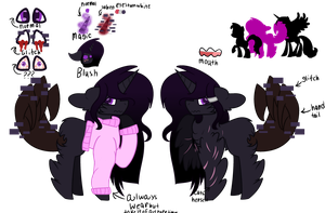 Glitchy Shadow .:Ref:. by DJEnderNight