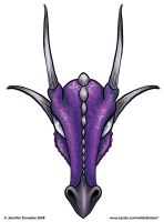 Baphomet Draconis - purple by whitefantom