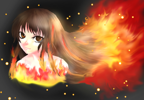 The Girl on Fire:. by Hasanti