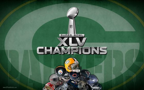 Packers Super Bowl Champions by gp-media-labs