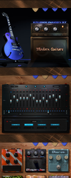 Modern Guitars for Kontakt by vStyler
