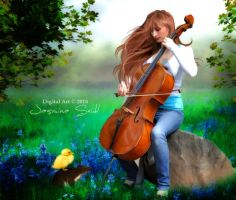 Listen To My Music Sweet Little Friends by Jassy2012