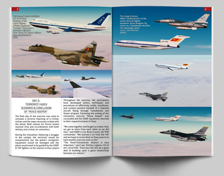 Ace Combat SHATTERED SKIES Magazine Page 8 and 9 by BillyM12345