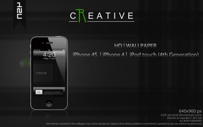 Creative for iPhone 4 by n24-second