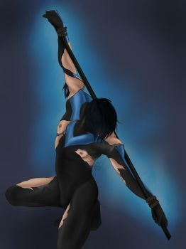 Nightwing by Draconis-Silver