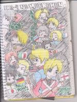 A Hetalia History Notebook by deidara005