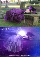 BEFORE-AFTER of Hold On by LaVolpeCimina