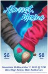 Almost Maine: Poster paint/design commission. by BlackHawk45LC