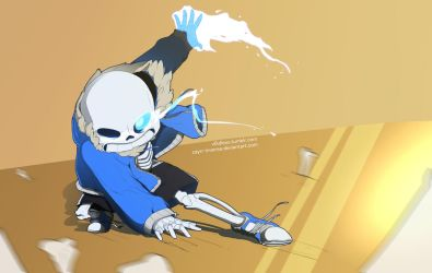 Bad time by v0idless