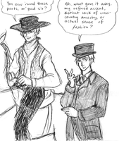 APH : A Cowboy and A Victorian by Scarabsi