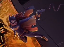 Batgirl by SofieWikstromArt
