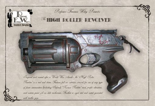 The High Roller Revolver by davincisghost