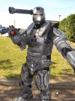 War Machine Cosplay, MCM Expo London, May 2013 by Pixie-Aztechia