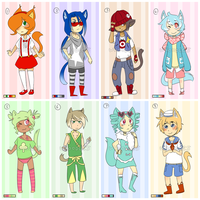 Adoptable Batch 2 {CLOSED} by Whoodles