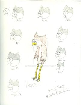 Hector the Owl by troden10