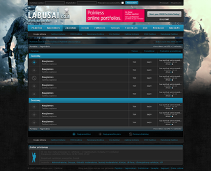 redesign of Labusai.com by ARIUSdesign