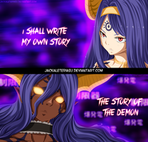 Fairy Tail Seilah intellectual demon by JackalEteriasu