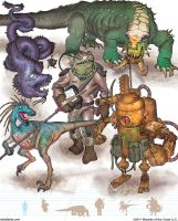 Gamma World Monsters 14 by MikeFaille