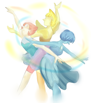 Pearl Ballet by SunsetFlareX