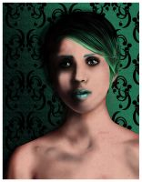 Photoshop test - Female green by cgianelloni