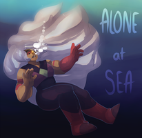 alone at sea by AwesomeBlossomPossum
