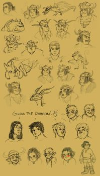 HTTYD: Even more doodles by Iceway