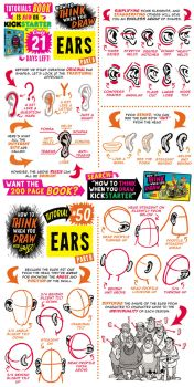 How to draw EARS - KICKSTARTER has 21 DAYS! by STUDIOBLINKTWICE