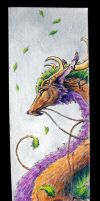Forest Dragon Bookmark by chaosia