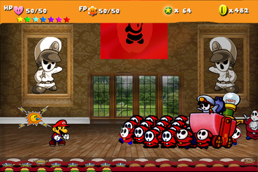 Paper Mario The Movie by freshables