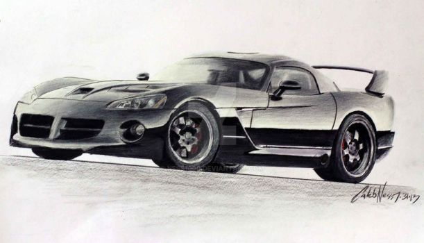 Dodge Viper Hennessey by Ness1000