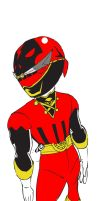 Anime Pirate theme, Red Ranger by DynamicSavior