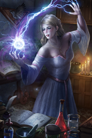 Amy Graine - Master of White Magic by tjota