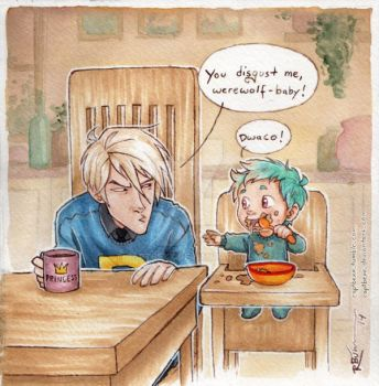 Draco meets Teddy by CaptBexx