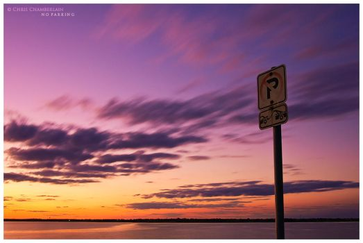 No Parking by FasterThanChris