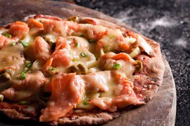 Smoked Salmon Pizza by Lau888