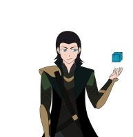 Loki Colored by Otarun90