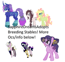 Mlp Oc Breeding Stables OPEN by SapphireDreamsAdopts