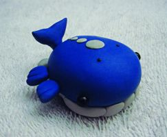 Wailord Pokedoll Sculpture