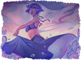 Lapis on Water by LordEyeballz