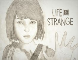Life is Strange Max Drawing by Jasdou07