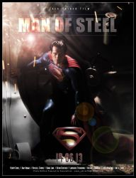Man of Steel by superadrian