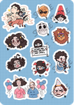 DDYK Stickers! by Tuliblu