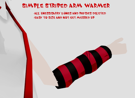 Arm Warmer for MMD by RandomDraggon