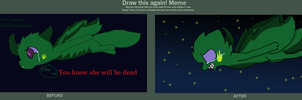Draw This Again Meme by Imnotgivingup