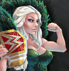 Miss Charlotte Flair by MeowYin