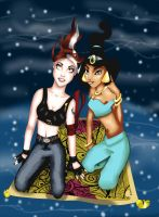 Jasmine and Hayley - request by daily-happiness