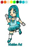 Chibi Gift: Maiden Aoi by Magical-Mama