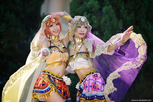 Love Live -  Belly Dancer by vaxzone