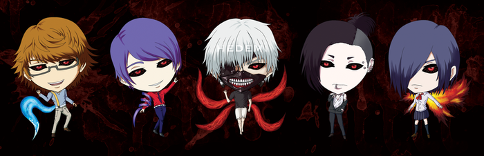 Tokyo Ghoul by Hedemi
