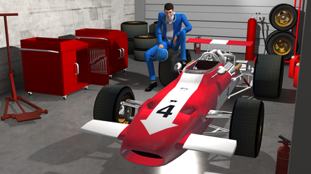 Lupin the third : 3d model for Poser #16 by freeReef
